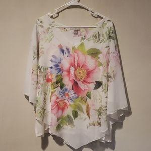 Beautiful Floral Print Top
